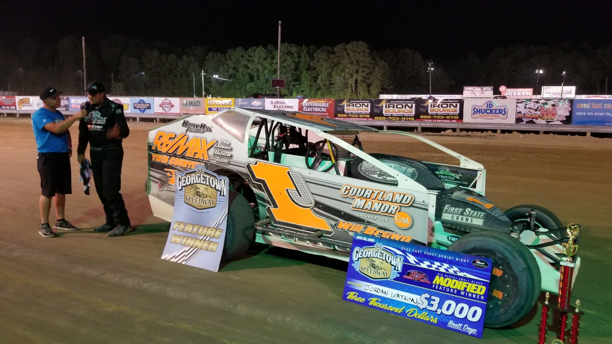 BLUE HEN DISPOSE-ALL RESULTS SUMMARY – GEORGETOWN SPEEDWAY